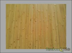 Tambour Panels Natural Raw. These 4ft. x 8ft. natural bamboo tambour mats (paneling) are a favorite for any designer or do it yourselfer.Like most matting products, they look great when attached to walls, and ceilings.  Restaurants use this product to produce beautiful countertops and tables when resins are applied over them.