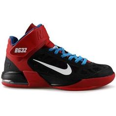 http://www.asneakers4u.com/ Nike Air Max Fly By Blake Griffin Home PE Black/Red/Blue