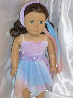 ballet costume for 18 inch doll
