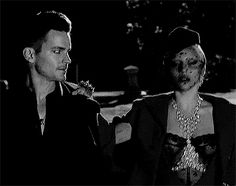 Matt Bomer as Donovan and Lady gaga as The Countess in Hotel ep 1, Checking In.