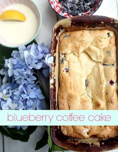 This recipe for the best ever blueberry coffee cake will seriously melt in your mouth! It will soon be your favorite way to celebrate blueberries! It's rich and delicious and great in every season, but especially summer when the blueberries are plentiful. via lifeingrace
