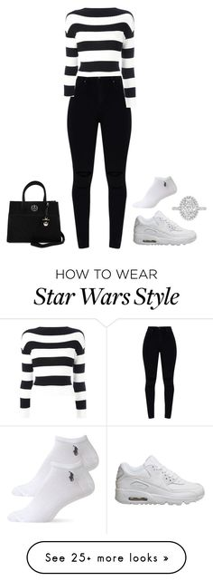 """""""Untitled #730"""" by brokegirlrichtaste on Polyvore featuring Boutique Moschino, NIKE, Loungefly and Ralph Lauren"""
