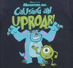 Toddler Monsters Inc Causing An Uproar T-Shirt