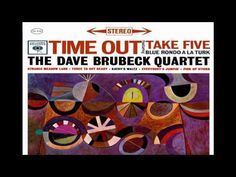 "The Dave Brubeck Quartet-""Time Out"" [FULL ALBUM]. One of my favorites from The Dave Brubeck Quartet. Tracks include ""Blue Rondo A La Turk,"" ""Take Five,"" and ""Strange Meadow Lark."" This album was released in 1959. It runs nearly forty minutes long."