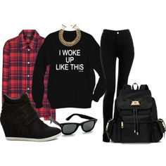 """""""We flawless ladies tell'em"""" by kristalize on Polyvore"""
