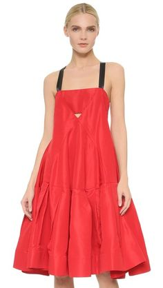 Vera Wang Collection Dress with Camisole Neckline