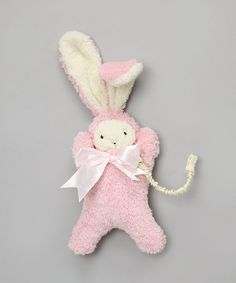 This Plush Pink Bunny & Pacifier Clip by Mia Belle Baby is perfect! #zulilyfinds http://www.zulily.com/invite/kcrim608