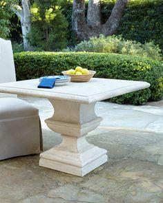 Alexandra Outdoor Pedestal Table