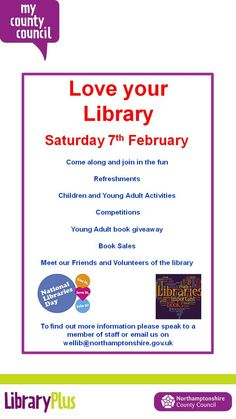 National Libraries Day & Wellingborough Library