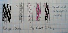 MakeArtBeHappy: Zentangle patterns