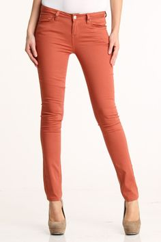 rust colored jeans