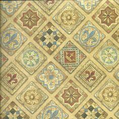 Papel decorativo mosaico, perfecto para cartonnage, encuadernación, forrar y cualquier tipo de decoración