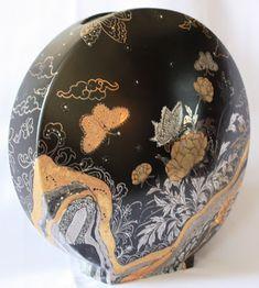 Peinture sur porcelaine: Technique moderne - Vase