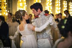 1 of the Top 25 Hollywood movies of 2016 Lily James as Natasha Rostova and James Norton as Prince Andrei Bolkonsky in War and Peace (TV Mini-Series, [x] War And Peace Bbc, Peace Tv, James Norton, Lily James, The Great Comet, Princess Aesthetic, Movie Costumes, Historical Romance, Pride And Prejudice
