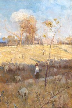 Arthur Streeton's Golden Summer, Eaglemont. 1889. National Gallery of Australia, Canberra.