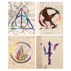 Divergent, percy jackson, the hunger games, and Harry potter