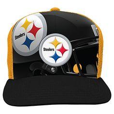 Pittsburgh Steelers Flat Bill Hats