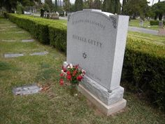 Grave Marker- Estelle Getty, Actress (Golden Girls)