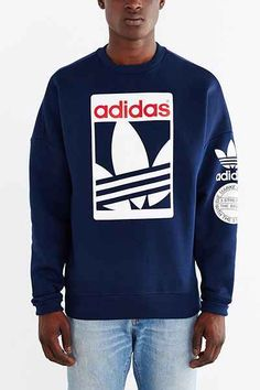 Sweatshirt Box Graphic Trefoil Originals Adidas wpgaq5IW6n