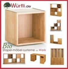 Regalwürfel Und Möbelsystem Würfli, Das Massive Bio   Regalsystem Holz,  Holzregal, Regal Massivholz, Und Regal Holz   Regalsysteme Ab Werk