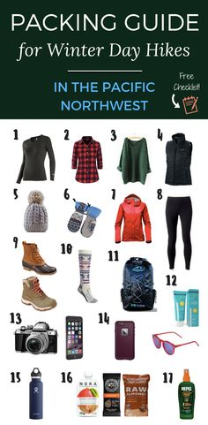 Packing Guide for Winter Day Hikes in the Pacific Northwest | USA Travel | The Atlas Heart