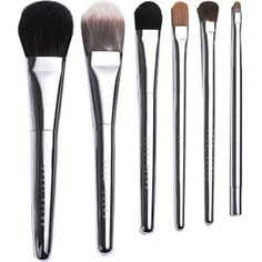 BOBBI BROWN Travel Brush Set (2 960 ZAR) ❤ liked on Polyvore featuring beauty products, makeup, makeup tools, makeup brushes, beauty, cosmetics, shadow brush, blender brush, eye shadow brush and polishing kit