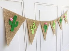 Cactus Banner Cactus Decor Cactus Party Cactus Garland