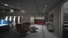 Iron Man garage