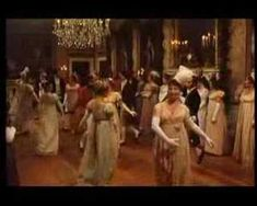 Watch Mr.. Darcy and Lizzy  Bennett take part in a regency English country dance called Mr. Beveridge's Maggot (from BBC's made-for-tv movie Pride & Prejudice).  http://www.janeausten.co.uk/how-to-dance-mr-beveridges-maggot/