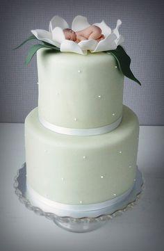Para un elegante pastel de bienvenida...
