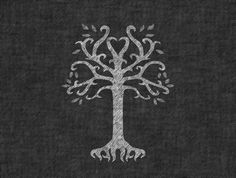 Forrst | The White Tree of Gondor - A post from peterburdette