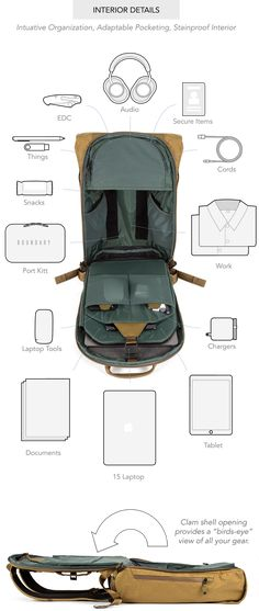 Boundary is raising funds for Errant: The Ultimate Everyday Backpack on Kickstarter! The Errant's sleek and minimal design adapts to suit the active, the creative, and the lost. Edc Backpack, Best Laptop Backpack, Waterproof Laptop Backpack, Computer Backpack, Computer Bags, Canvas Backpack, Camo Purse, Designer Backpacks, Leather Briefcase