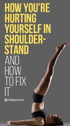 Practising shoulder stand calms the nervous system, decreases varicose veins, helps reduce wrinkles and aids in restful sleep. See how to support your posture, increase the benefits and reduce risk. Pilates, My Yoga, Yoga Flow, Shoulder Stand Yoga, Advanced Yoga, Types Of Yoga, Yoga Tips, Yoga Sequences, Morning Yoga