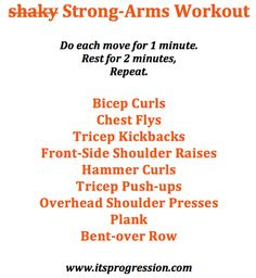 strong-arms workout