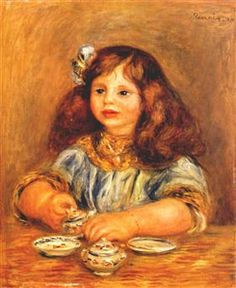 Genevieve bernheim de villers - Pierre-Auguste Renoir