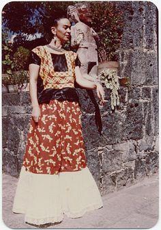 Frida Kahlo, Coyoacán Mexico, 1948