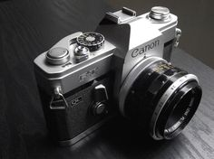 1960's Canon FT QL SLR 35mm Film Camera JuniperHome
