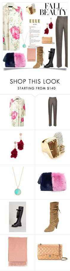 """Scorching Style"" by mkrish ❤ liked on Polyvore featuring Ermanno Scervino, Calvin Klein Collection, Tory Burch, Alexis Bittar, Bronzallure, Loeffler Randall, Greymer, Veronica Beard, Acne Studios and Chanel"