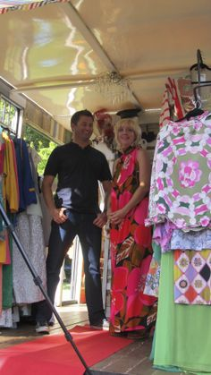 filming with George Clarke bright and colourful recycled wood unusual camper van interiors mobile vintage clothes shop unusual camper van horse box conversion www.crystalvintage.co.uk www.crystalvintage.co.uk https://twitter.com/GloriaPopUpShop Gloria, the Crystal vintage dressing up box, as seen on George Clarke's Amazing Spaces series 2, ep 4 channel4