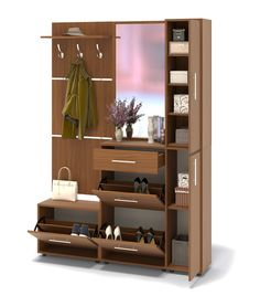 Discovering an answer in your storage objects can be pretty easy, due to the superb design of an in-built wardrobe. The in-built wardrobe is just [. Dressing Table Design, Wardrobe Furniture, Bedroom Closet Design, Interior Furniture, Home Entrance Decor, Home Interior Design, Inside Decor, House Interior Decor, Furniture Design