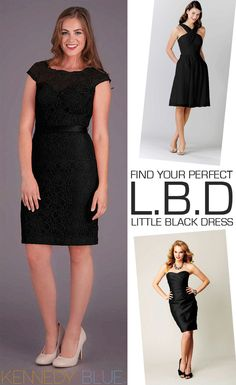 Find your perfect Little Black Dress with our style guide!   Kennedy Blue