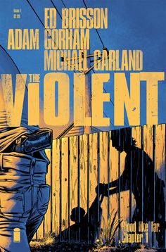 THE VIOLENT logo and cover design
