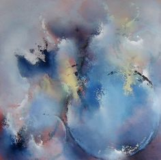 Baby Blue 24 x 24 Acrylic on Panel