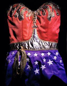 Lynda Carter costume for the original Wonder Woman TV Series