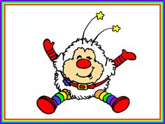 Rainbow brite illustration  | ... picture right click on the picture and choose set as wallpaper enjoy