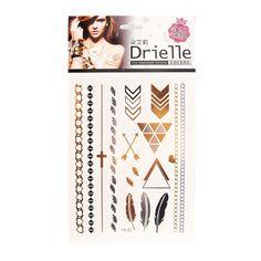 【幾何印記紋身貼紙】:Drielle朵艾莉