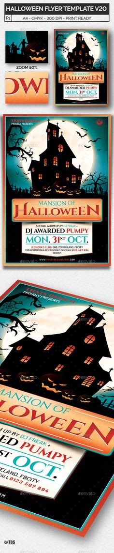 Halloween Flyer Template V20
