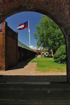 Fort Pulaski National Monument, Savannah, GA