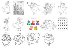 Candyland Character Coloring Page Pins For F F N Pinterest