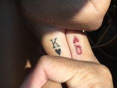 New tattoo finger love king queen 48 ideas - Tattoos Partner Tattoos, Side Hand Tattoos, Finger Tattoos For Couples, Couple Tattoos Love, Tattoos For Women, Tattoos For Guys, Tattoo Finger, Hand Tats, Couples Tattoo Designs